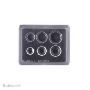 Padico Jewel Mold Mini Jewelry Cut Circle