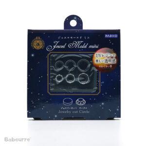 Padico mallen Jewel Mold Mini Jewelry Cut Circle