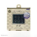 Padico mallen Jewel Mold Mini Jewelry Cut Hexagon