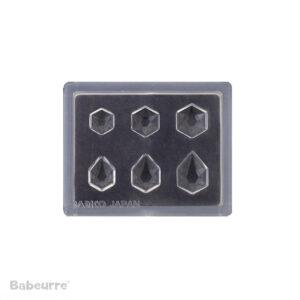 Padico Jewel Mold Mini Jewelry Cut Hexagon
