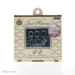 Padico mallen Jewel Mold Mini Jewelry Cut Square Oval