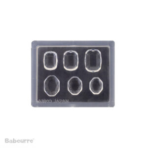 Padico Jewel Mold Mini Jewelry Cut Square Oval