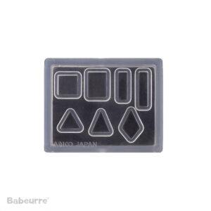 Padico Jewel Mold Mini Simple Shape