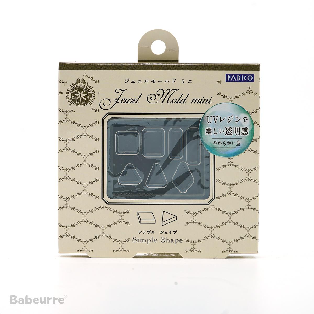 Padico mallen Jewel Mold Mini Simple Shape