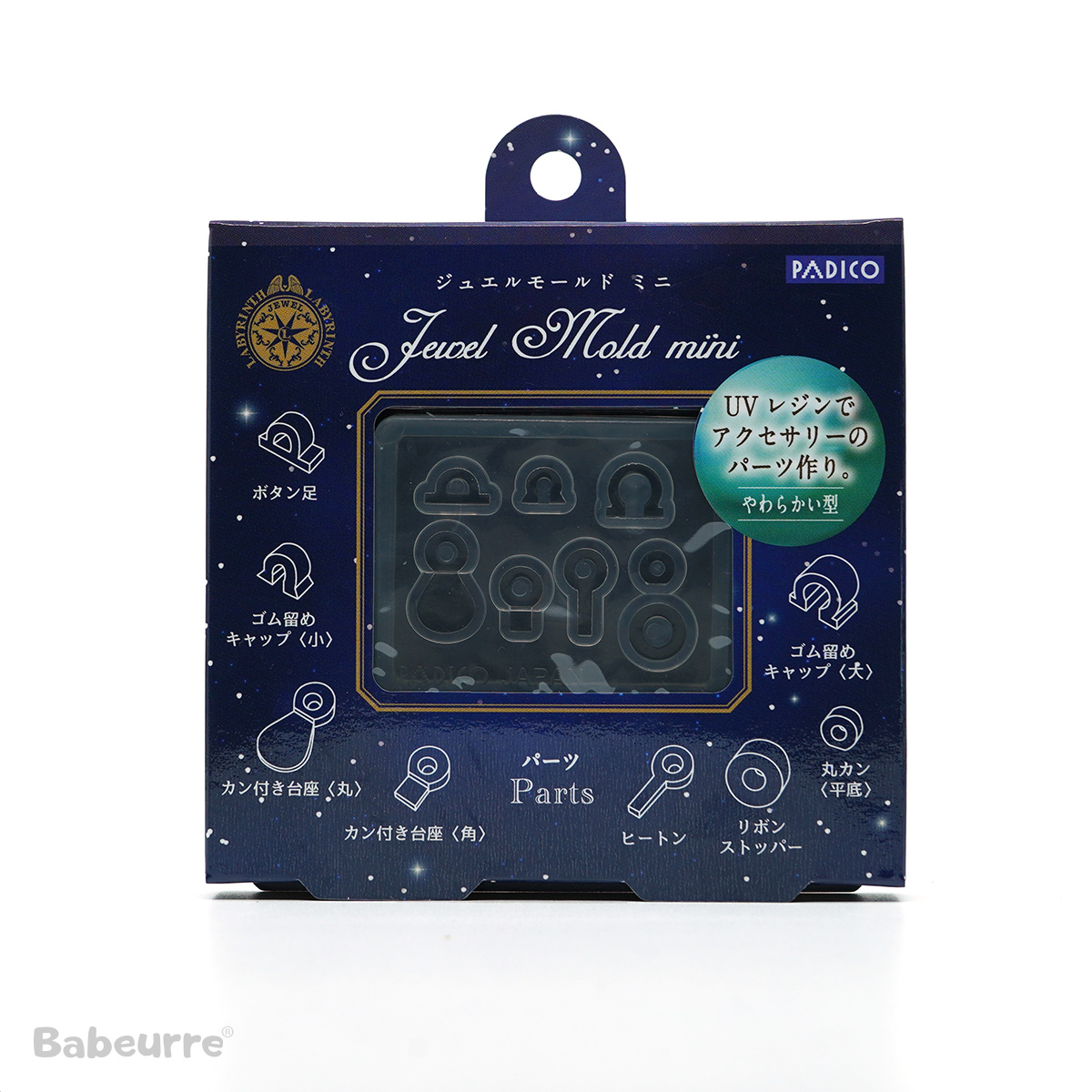 Padico mallen Jewel Mold Parts