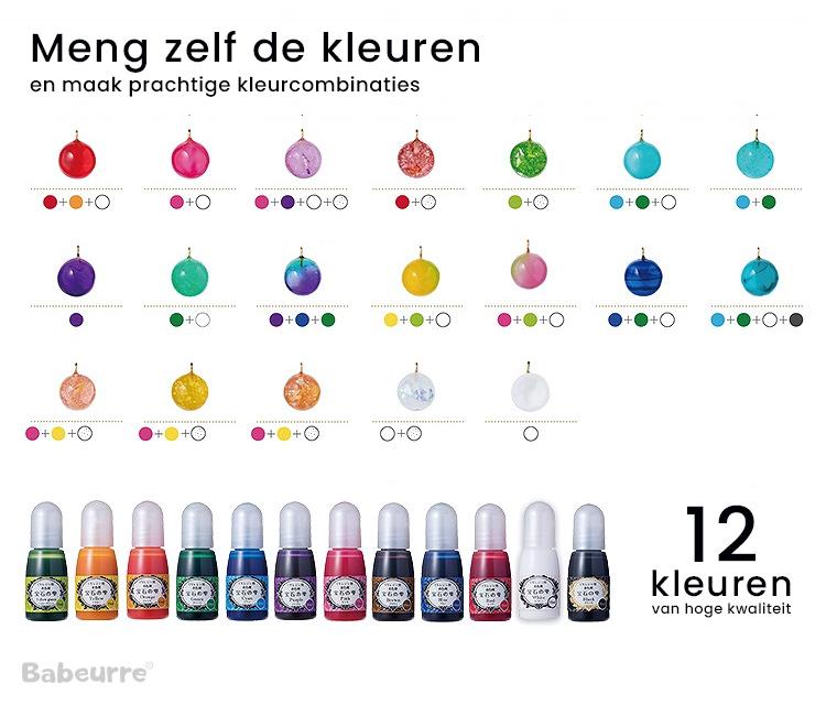 Padico Jewel Color - 12 kleuren om zelf te mengen