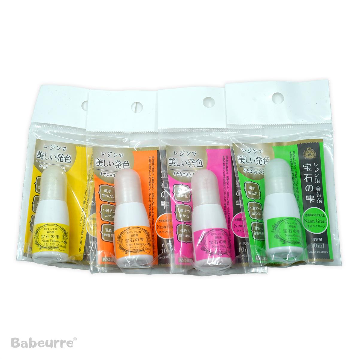 Padico pigment neon set 4 stuks