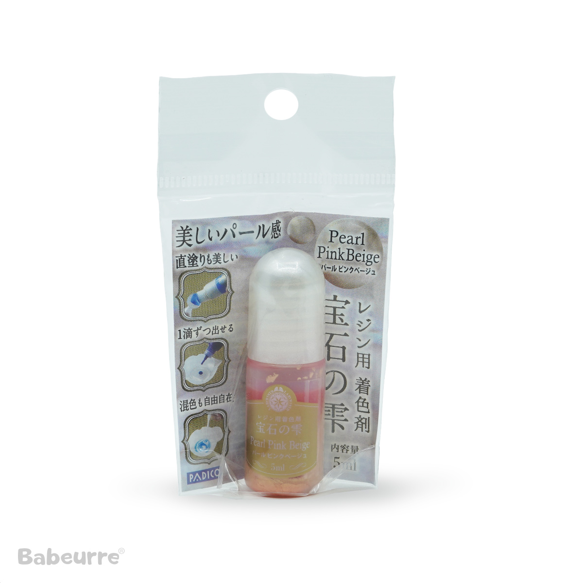 Padico pigment pearl pink beige