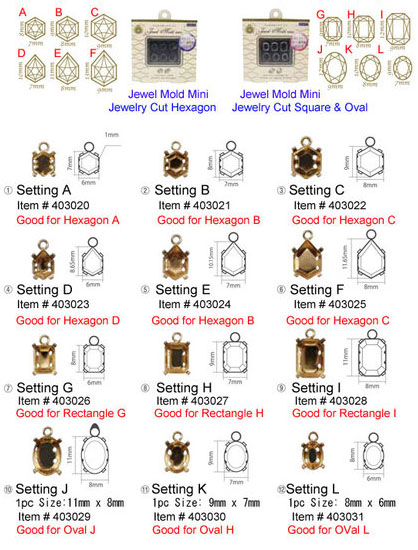 Setting for Jewel Mold mini overview
