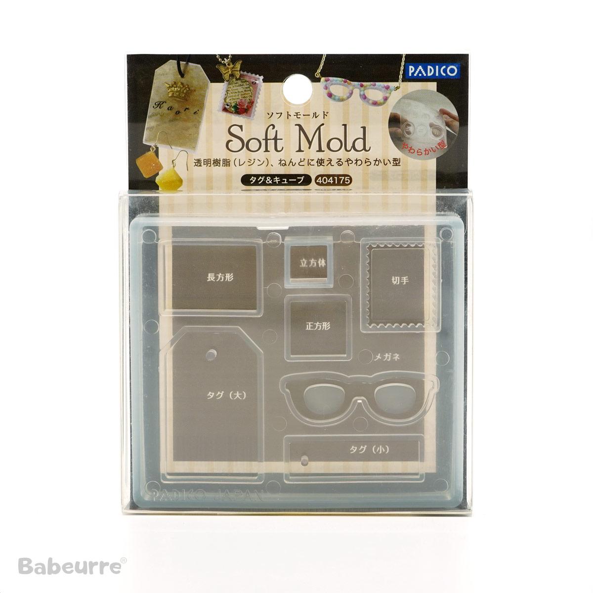 Padico Soft Mold Tag Cube
