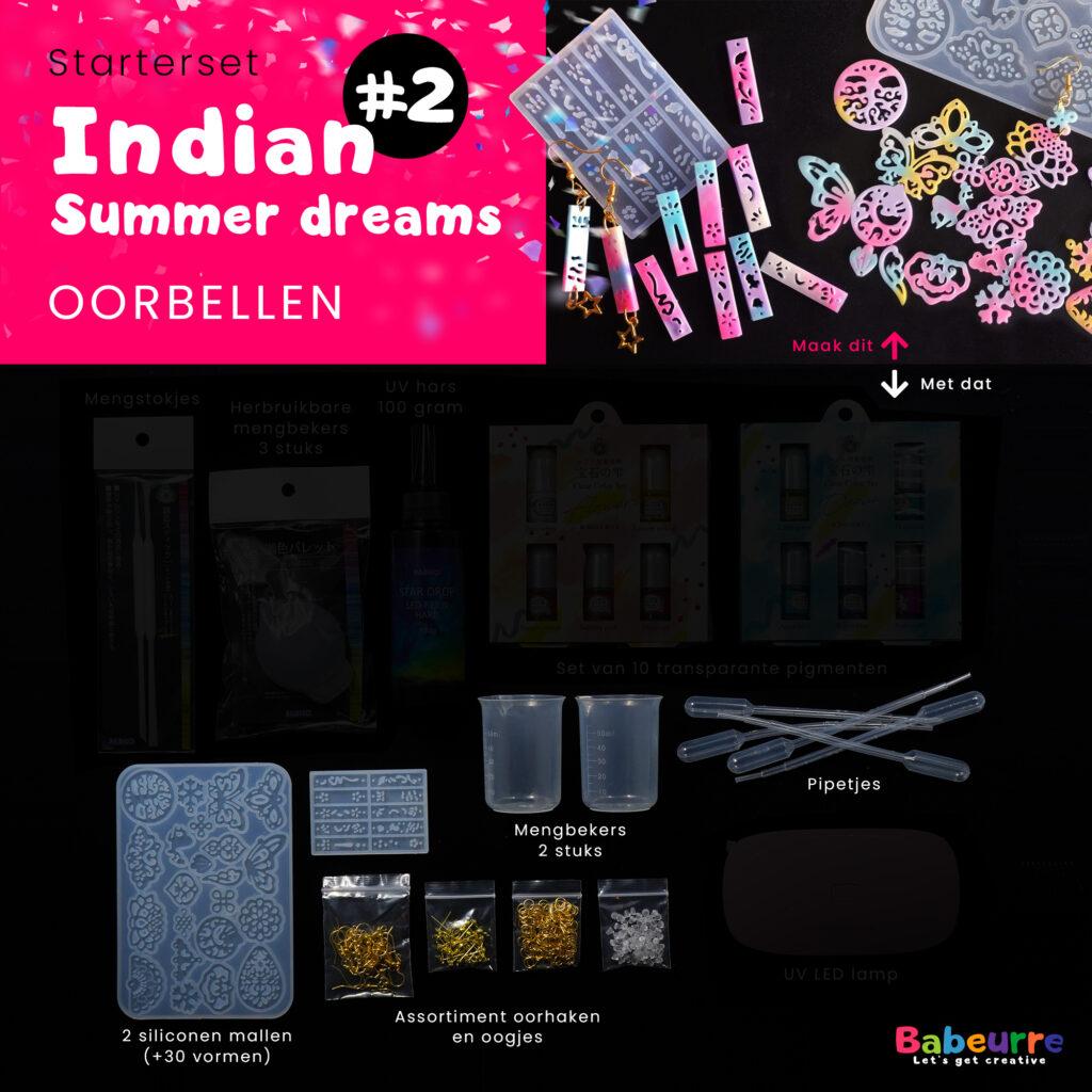 Starterset - Indian summer dreams - Oorbellen - Versie #2
